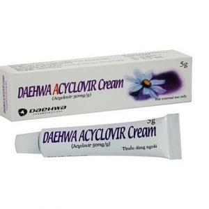 Daehwa Acyclovir – DP Hàn Quốc