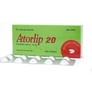 Atorlip 20 – DP Hậu Giang