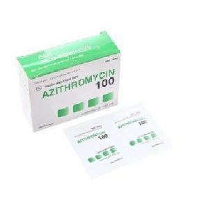 Azithromycin 100mg – DP Hậu Giang
