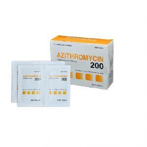 Azithromycin 200mg – DP Hậu Giang