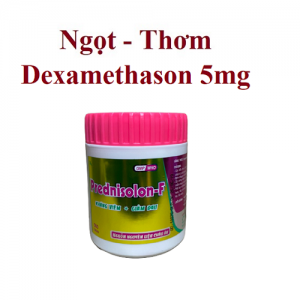 Prednisolon 5mg – F – Nén – DP Nic Pharma