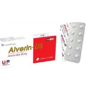 Alverin citrat 40mg – DP USP