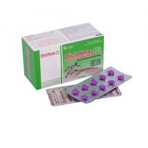 Diclofenac 75mg – Vỉ – DP Vacopha