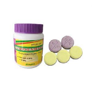 Clorpheniramin 4mg – Tím – DP Vacopha