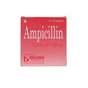 Ampicilin 500mg – DP Ấn Độ