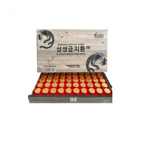 An Cung Ngưu Hoàng 60 Viên – Gỗ 2 tem – Nhạt – DP Hàn Quốc