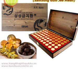An Cung Ngưu Hoàng 60 Viên – Gỗ 2 tem – Đậm – DP Hàn Quốc