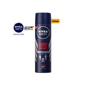 Xịt ngăn mùi Nivea Men – khô thoáng